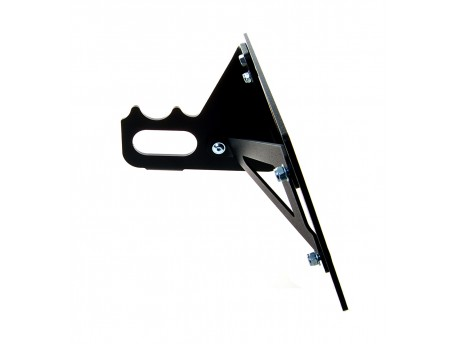 Sidemount License Plate Bracket short style Sportster 2004 up